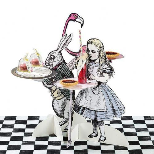 Alice In Wonderland Cake Stands 3pk